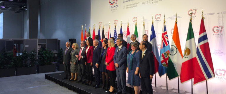 Environment ministers from the G7 countries recognize the importance of enhancing energy efficiency in the cooling sector in Metz, France.