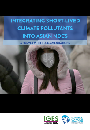 Integrating short-lived climate pollutants into Asian NDCs