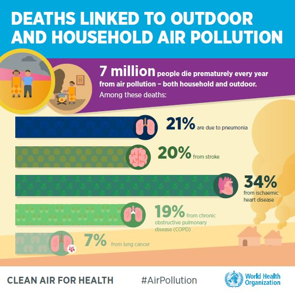 World Health Organization releases new global air pollution data
