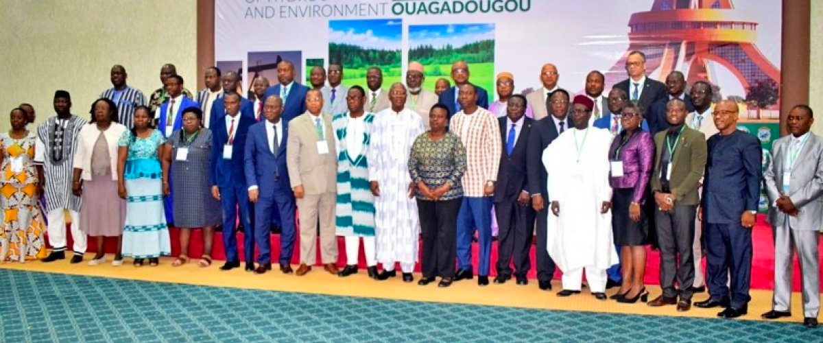Meeting of ECOWAS environment and energy ministers on February 6, 2020.