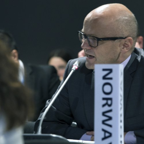 Vidar Helgesen, Minister of Climate and the Environment, Norway