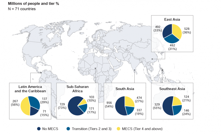 Map: access to clean fuels