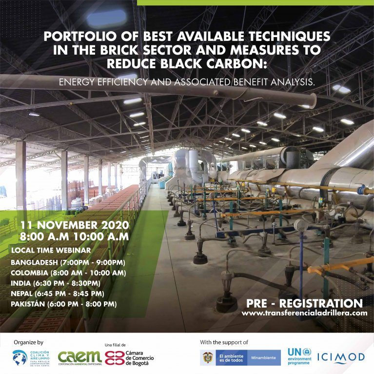 Knowledge exchange webinar on the best available techniques in the brick sector and measures to reduce black carbon