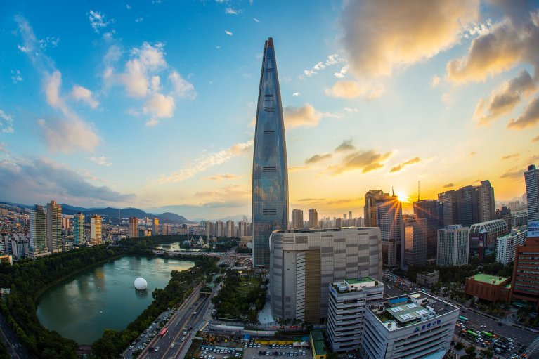 Lotte World Tower, Seoul, South Korea