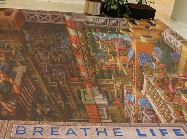 3D poster Breathe Life