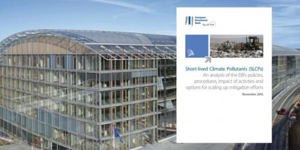 European Investment Bank analysis of Short-Lived Climate Pollutants