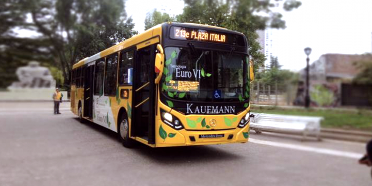 Santiago city bus