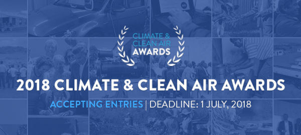 2018 Climate & Clean Air Awards accepting entries until 1 July ...