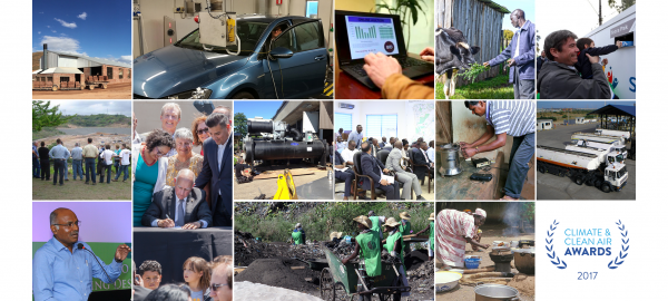 The 14 shortlisted candidates for the Climate & Clean Air Awards