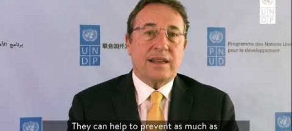 Achim Steiner, UNDP Administrator, talks about the need for integrated policies