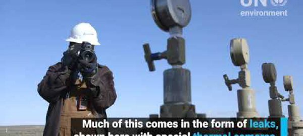Invisible Emissions - High tech cameras reveal methane leaks