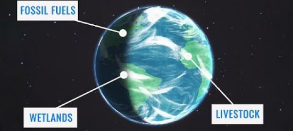 NASA Models Methane Sources, Movement Around Globe