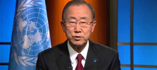 UN Secretary General's message to the CCAC High Level Assembly in September, 2014.