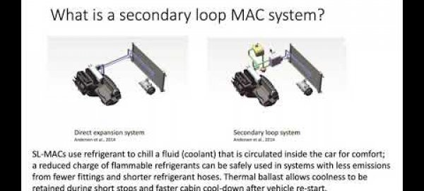 Webinar on the Secondary Loop – Mobile Air Conditioning Project  Final Results and Path Forward
