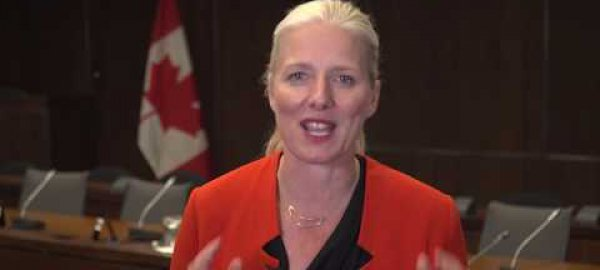 Catherine McKenna Climate and Clean Air Award acceptance speech