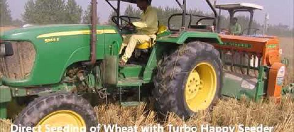 Turbo Happy Seeder equipment