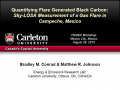 Presentation: Quantifying Flare Generated Black Carbon: Sky-LOSA Measurement of a Gas Flare in Campeche, Mexico