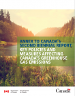 Canada's annex to the biennial report on policies and key actions