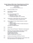 Agenda: Domestic Heating and Black Carbon: Sharing Experiences and Policies
