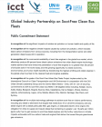 Cummins Inc commitment statement - Global Industry Partnership on Soot-Free Clean Bus Fleets