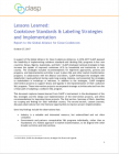 Lessons Learned: Cookstove Standards & Labeling Strategies and Implementation
