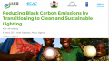 Reducing black carbon emissions by transitioning to clean and sustainable lighting
