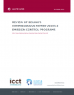 Review of Beijing's Comprehensive Motor Vehicle Emission Control Programs