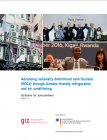 Advancing nationally determined contributions (NDCs) through climate-friendly refrigeration and air