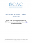 Cover image: Short-Lived Climate Pollutants in the Fifth IPCC Assessment Report Working Group I The Physical Science Basis