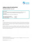 Urban Health Initiative: 2016-2017 Progress Report