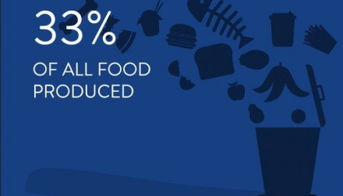Globally, about one-third of food produced for human consumption is lost or wasted, amounting to about 1.3 billion tonnes every year.