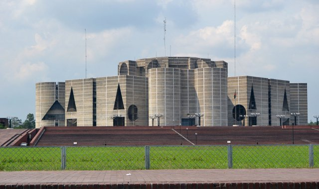 Parliament building Bangladesh
