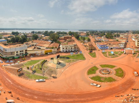 The city centre of Bangui. Photo: Alllexxxis / CC BY-SA