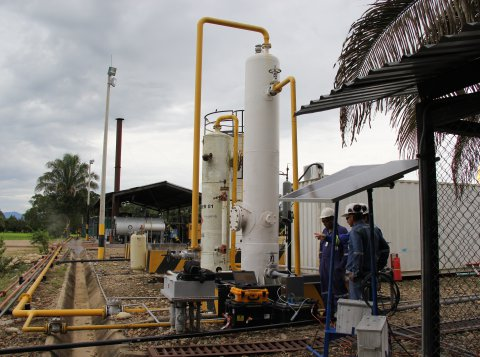 Oil and gas operations in Colombia