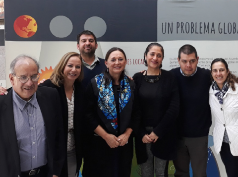 Mexico's national SLCP planning team