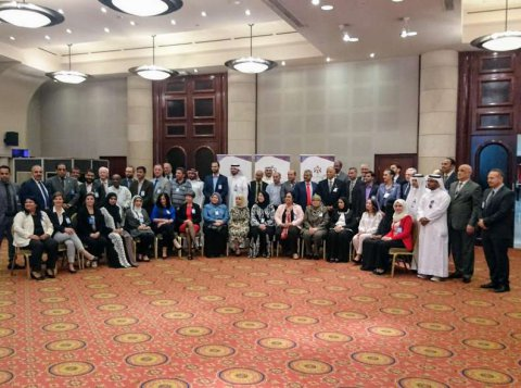 Group photo at the SNAP meeting in Amman, Jordan 2019