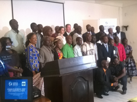 Group Photo from the SNAP workshop in Liberia