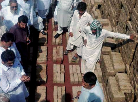Bricks field training in Pakistan