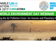 Solving the Air Pollution Crisis for Human and Planetary Health