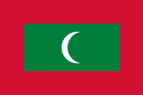 Flag of the Maldives