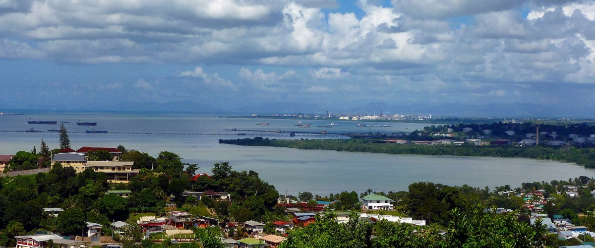 Pointe a Pierre, Trinidad and Tobago. Photo by: Kalamazadkhan, Wikimedia Commons