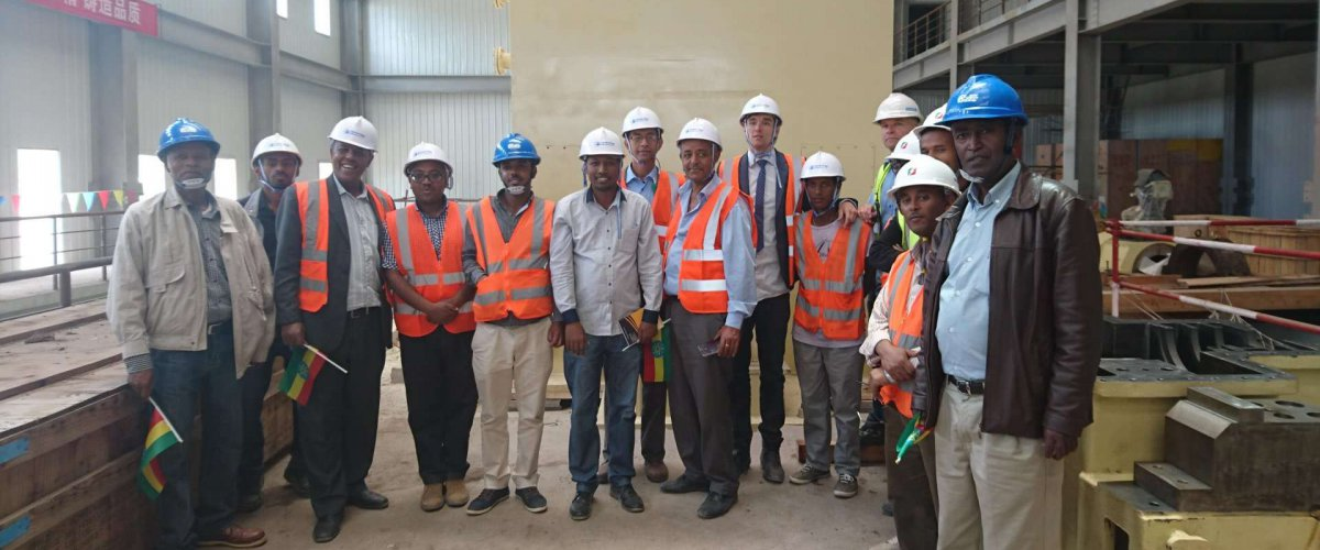 SNAP meeting visit to waste-to-energy plant in Ethiopia 2016