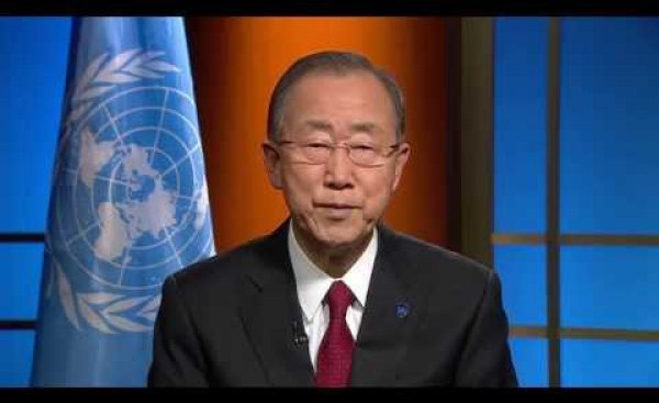 """""""The world counts on your continued efforts."""" Message to the CCAC from the UN Secretary-General"""