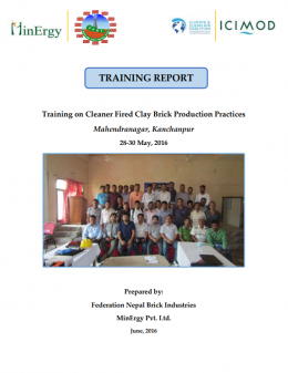 Training on Cleaner Fired Clay Brick Production Practices in Mahendranagar, Kanchanpur