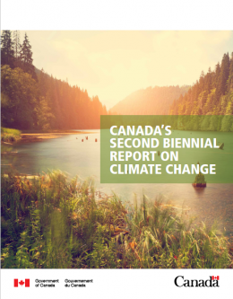 Canada's Second Biennial Report submission to the United Nations Framework Convention on Climate Change (UNFCCC)