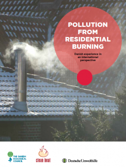 Pollution from residential burning: Danish experience in an international perspective