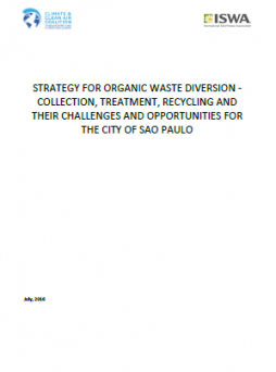 Strategy for Organic Waste Diversion - Collection, Treatment, Recycling and Their Challenges and Opportunities for the City of Sao Paulo, Brazil