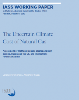 The uncertain climate costs of natural gas