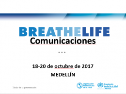 BreatheLife Communication
