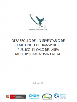 Development of an Inventory of  Public Transportation Emissions: the Case of the Lima-Callao Metropolitan Area